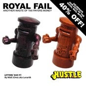 Image of The Royal Fail: LETTERS 'AVE IT! exclusive artist edition