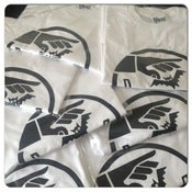 Image of Trashbat Tee (White/Black Logo)