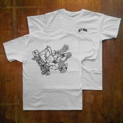 Image of Skate Monster Tee White