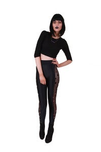 Image of BLACK WIDOW LTD EDT XTRA HIGHWAISTED LEGGINGS...