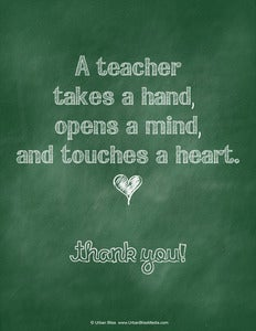 Image of Teacher Printable Poster