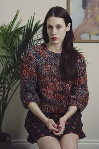 Image of kingston thick & thin merino sweater (shown in Nebula)