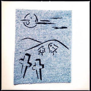 Image of SICK Ghost party! Patch - Light blue denim