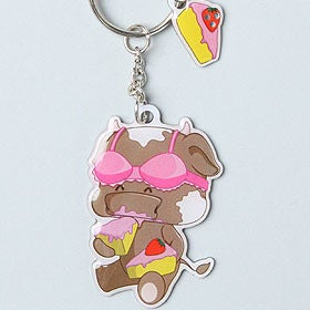 Image of UndieBabies Key Ring, Milky