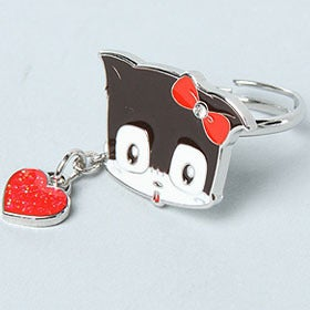 Image of Lovi Kitty Face Charm Ring