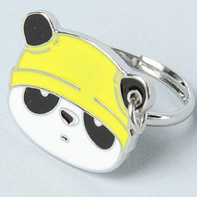 Image of Chubbi Panda Face Charm Ring