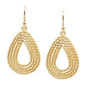 Image of Handmade Rope Earrings