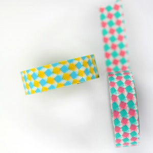 Image of Bright Square Washi Tape