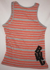 Image of 2013 Guys Orange Crush Stripped Tanks
