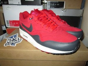 "Image of Air Max 1 Premium ""Gym Red"""
