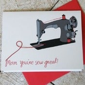 Image of Mom, You're Sew Great Card