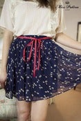 Image of Fine &amp; Mellow Skirt (navy)