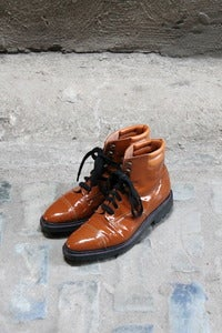 Image of VTG  Robert Clergerie Patent Boot