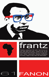Image of Tribute Frantz Fanon Poster