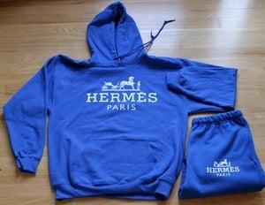 Image of Hermes Hoodie Suit (Pre-Order)