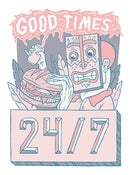 Image of Good Times Burger A3 print
