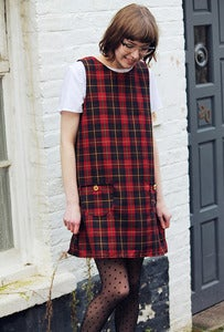 Image of Dorothy Tartan Ruby Red