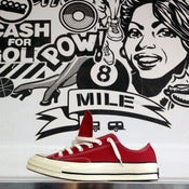 Image of 1970's Chuck Taylor Low (Crimson)