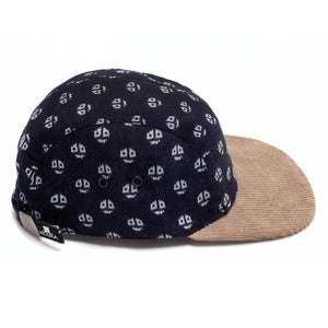 Image of MOUPIA Beetle/cord. 5 panel hat