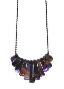 Image of Agate Waterfall Necklace