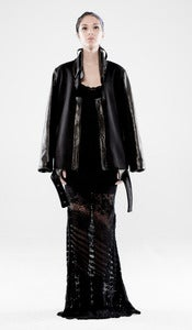 Image of HIGH TENSIONS dress (black)