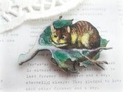 Image of Cat in Tree Brooch