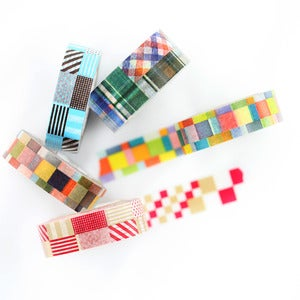 Image of Quilted Washi Tape