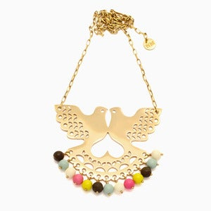 Image of Fantail Necklace | Golden Milk