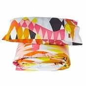 Image of Kip & Co Kids Croc Orange Quilt Cover & Pillowcase Set