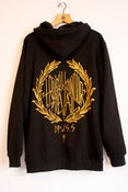 Image of Will Prevail Black &amp; Gold Hoody