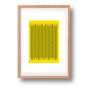 Image of Suzanne Antonelli- Herringbone Yellow