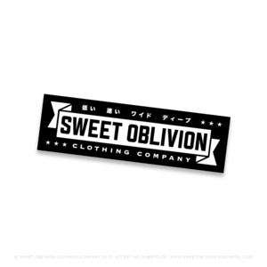 Image of Sweet Oblivion sticker #3
