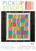 Image of Pick Up Sticks Quilt Pattern - PDF