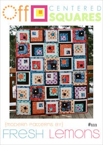Image of Off-Centered Squares Quilt Pattern - PDF