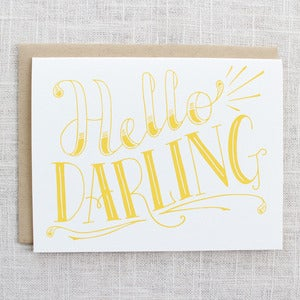 Image of Hello Darling Card