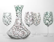 Image of The Four Seasons 5-Piece Decanter and Stemware Collection