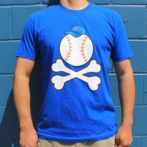 Image of Baseball -n- Bones (blue)