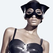 Image of Patent Leather Cat Mask
