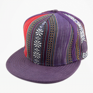 Image of Traditional Snapback [purple]