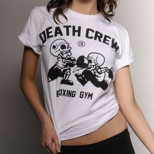 Image of 13s_11 GIRLS DEATH CREW BOXING GYM BOYFRIEND T