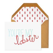 Image of You're My Lobster Card