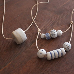 Image of Jujumade ceramic necklaces