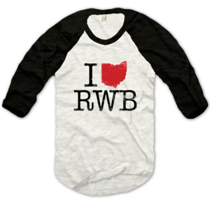 Image of I Heart RWB Baseball Tee