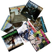 Image of HEELSIDE MAGAZINE BACK ISSUES