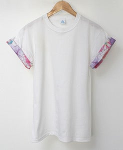 Image of AND.ALSO Floral Sleeve Tee <em>NEW</em>