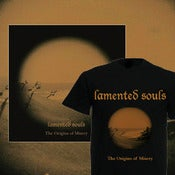 Image of Preorder: LAMENTED SOULS - The Origins Of Misery LP + T-SHIRT