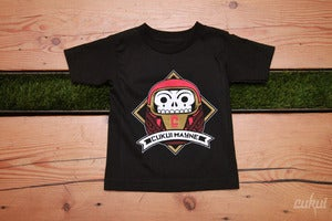 Image of Kid's Dia de Daruma Tee - Black