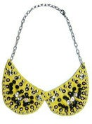 Image of Collar Peter Pan Amarillo