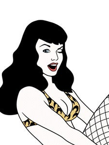 Image of Bettie 11 by 14 Limited Print
