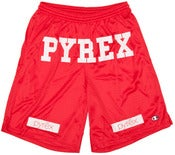 Image of Pyrex Vision Shorts (Red)